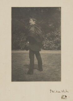 James Abbott McNeill Whistler, by Unknown photographer, Summer 1885 - NPG  - © National Portrait Gallery, London