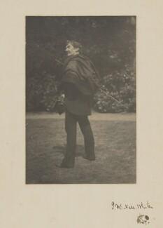 James Abbott McNeill Whistler, by Unknown photographer, Summer 1885 -NPG P356 - © National Portrait Gallery, London