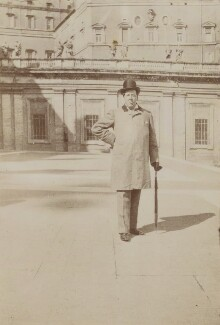 Oscar Wilde, by Unknown photographer, Spring 1900 - NPG  - © National Portrait Gallery, London
