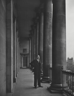 Harold Wilson, by Yousuf Karsh - NPG P257
