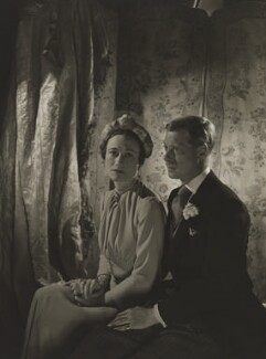 Wallis, Duchess of Windsor; Prince Edward, Duke of Windsor (King Edward VIII), by Cecil Beaton - NPG P265