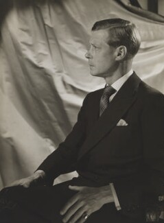 Prince Edward, Duke of Windsor (King Edward VIII), by Cecil Beaton - NPG P272