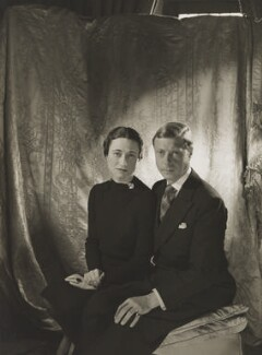 Wallis, Duchess of Windsor; Prince Edward, Duke of Windsor (King Edward VIII), by Cecil Beaton - NPG P274