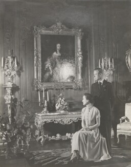 Wallis, Duchess of Windsor; Prince Edward, Duke of Windsor (King Edward VIII), by Cecil Beaton - NPG P277