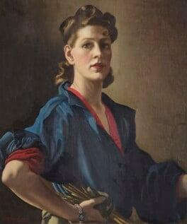 Anna Zinkeisen, by Anna Katrina Zinkeisen, circa 1944 - NPG 5884 - © National Portrait Gallery, London