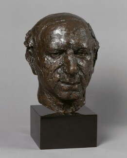 Solly Zuckerman, Baron Zuckerman, by Elisabeth Frink - NPG 5874