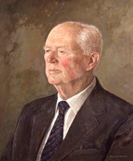 Henry Alexander Benson, Baron Benson, by John Whittall - NPG 6149