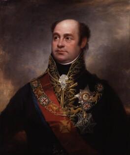 William Carr Beresford, Viscount Beresford, by Sir William Beechey - NPG 6094