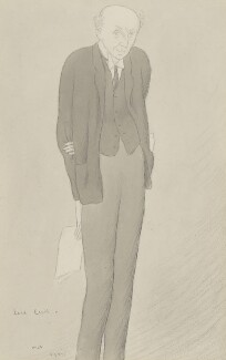 Edgar Algernon Robert Gascoyne-Cecil, 1st Viscount Cecil of Chelwood, by Sir Max Beerbohm - NPG 6169
