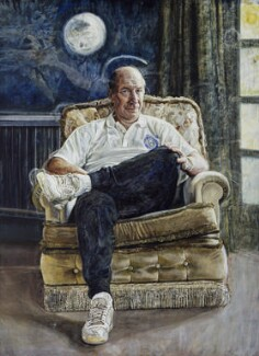 Bobby Charlton, by Peter Edwards, 1991 - NPG  - © National Portrait Gallery, London