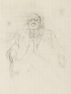 Winston Churchill, by Graham Sutherland, 1954 - NPG 6096 - © National Portrait Gallery, London