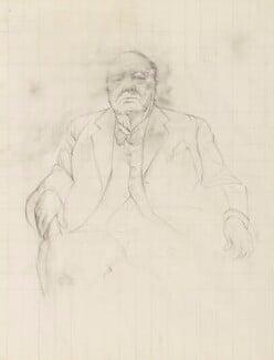 Winston Churchill, by Graham Vivian Sutherland, 1954 - NPG 6096 - © National Portrait Gallery, London