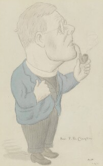 Tubby Clayton, by Sir Max Beerbohm - NPG 6168