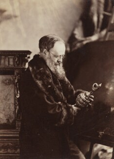 Wilkie Collins, by Napoleon Sarony - NPG P497