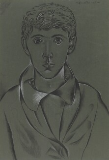 John Craxton, by John Craxton, 1945 - NPG  - © National Portrait Gallery, London