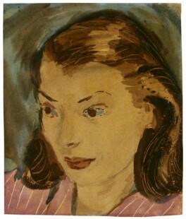 Margaret Furse (née Watts), by Roger Kemble Furse - NPG 6173