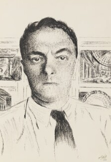 Erno Goldfinger, by Eileen Agar, 1938 - NPG  - © estate of Eileen Agar