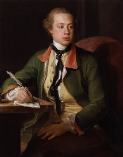 Frederick North, 2nd Earl of Guilford, by Pompeo Batoni, 1752-1756 - NPG 6180 - © National Portrait Gallery, London