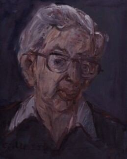 Eric John Ernest Hobsbawm, by Georg Eisler, 1989 - NPG 6111 - © National Portrait Gallery, London