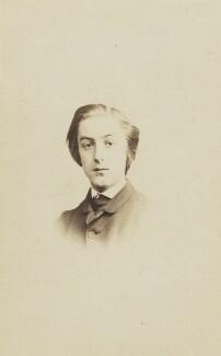 Gerard Manley Hopkins, by George Giberne, printed by  Hills & Saunders - NPG P452