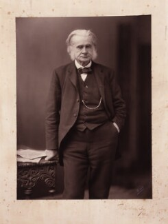 Thomas Henry Huxley, by W. & D. Downey, 1890 or before - NPG P429 - © National Portrait Gallery, London