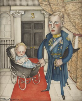 Prince George, Duke of Kent; Prince Edward George Nicholas Paul Patrick, Duke of Kent, by Anthony Wysard, 1936 - NPG 6119 - © reserved; collection National Portrait Gallery, London