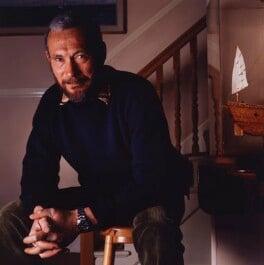 Robin Knox-Johnston, by Paul A. Harris - NPG P428