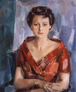 Rika ('Rixi') Markus (née Scharfstein), by Judy Cassab (Mrs Kampfner), 1958 - NPG 6199 - © National Portrait Gallery, London