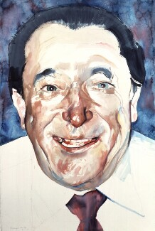Robert Maxwell, by Michael Frith - NPG 6201