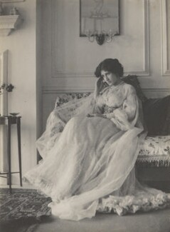 Lady Ottoline Morrell, by Cavendish Morton, 1905 - NPG P477 - © National Portrait Gallery, London
