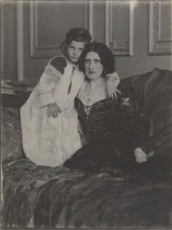Julian Vinogradoff (née Morrell); Lady Ottoline Morrell, by Cavendish Morton, circa 1911 - NPG P478 - © National Portrait Gallery, London