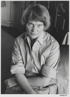 Iris Murdoch, by Gisèle Freund, 1959 - NPG P436 - © Estate Gisèle Freund / IMEC Images