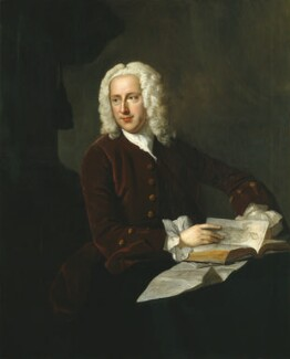 Frank Nicholls, attributed to Thomas Hudson, circa 1745-1748 - NPG  - © National Portrait Gallery, London