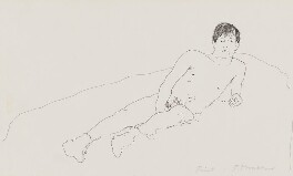 Joe Orton, by Patrick Procktor, 1967 - NPG  - © National Portrait Gallery, London