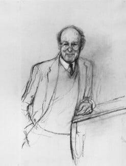 Max Ferdinand Perutz, by John Stanton Ward - NPG 6136