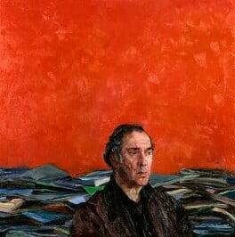 Harold Pinter, by Justin Mortimer, 1992 - NPG 6185 - © National Portrait Gallery, London