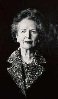 Margaret Thatcher, by Helmut Newton - NPG P507