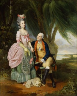Mary Wilkes; John Wilkes, by Johan Joseph Zoffany, exhibited 1782 - NPG  - © National Portrait Gallery, London
