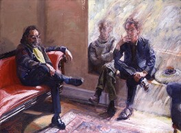 The Liverpool Poets (Adrian Henri; Roger McGough; Brian Patten), by Peter Edwards - NPG 5853