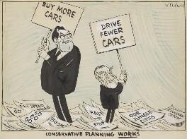 'Conservative planning works' (Reginald Maudling; (Alfred) Ernest Marples, 1st Baron Marples), by Victor Weisz - NPG 5352