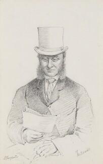 Hugh Fortescue, 3rd Earl Fortescue, by Frederick Sargent - NPG 5683