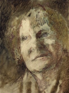 Iris Murdoch, by Tom Phillips - NPG 5944(6)