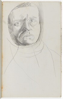 Graham Sutherland, by Graham Sutherland, circa 1945-1946 - NPG  - © National Portrait Gallery, London