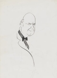 Noel Gilroy Annan, Baron Annan, by Mark Boxer, 1960s - NPG 5920(2) - © estate of Mark Boxer