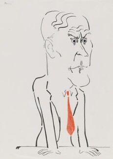 Tony Benn, by Mark Boxer - NPG 5920(4)