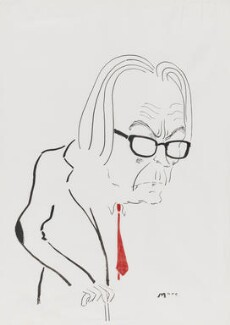 Michael Foot, by Mark Boxer - NPG 5920(9)