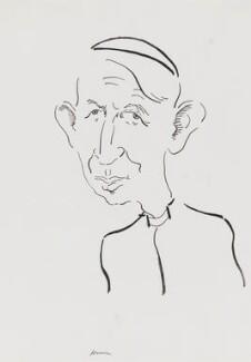 Basil Hume, by Mark Boxer - NPG 5920(13)