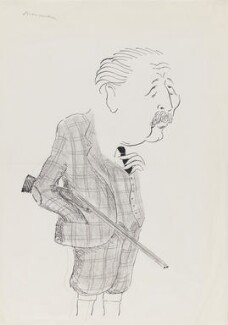 Harold Macmillan, 1st Earl of Stockton, by Mark Boxer, early 1970s - NPG 5920(23) - © estate of Mark Boxer