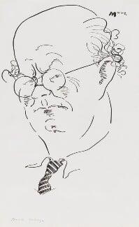 Auberon Waugh, by Mark Boxer - NPG 5920(24)