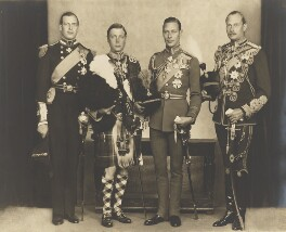 The four sons of King George, by Bertram Park, 26 June 1931 - NPG P140(3) - © estate of Bertram Park / Camera Press